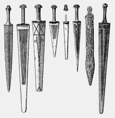Bronze age daggers from Armenian Highlands and the Caucasus