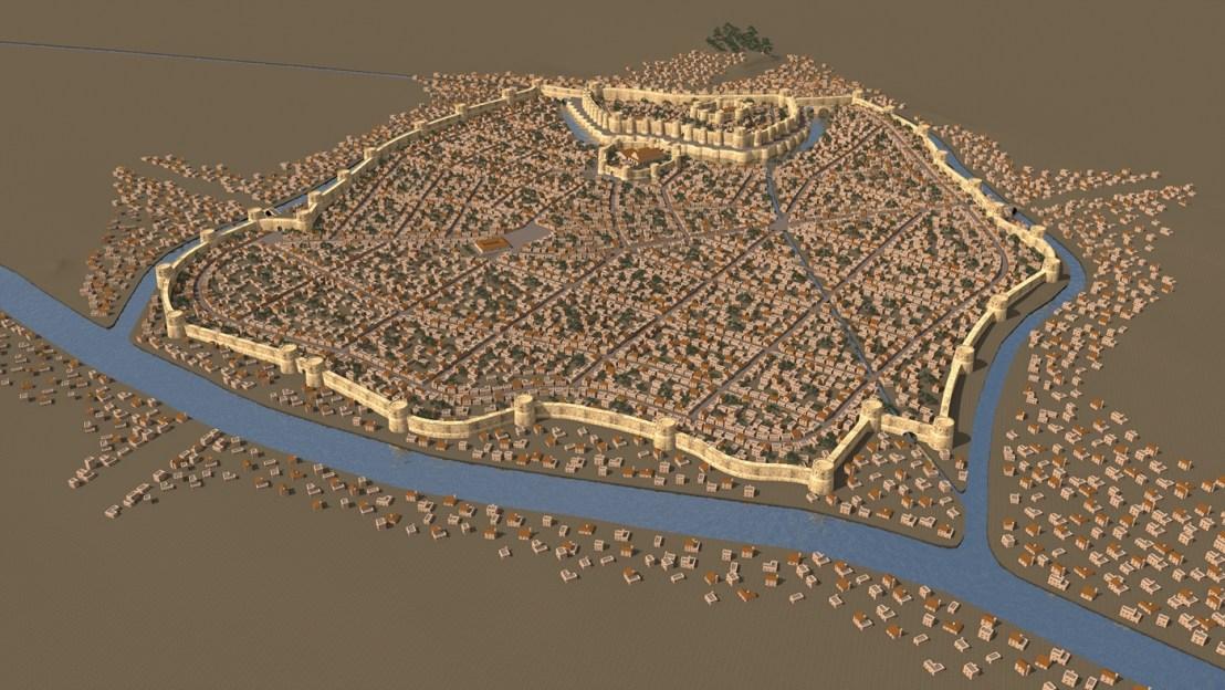 Dvin city 3D reconstruction2