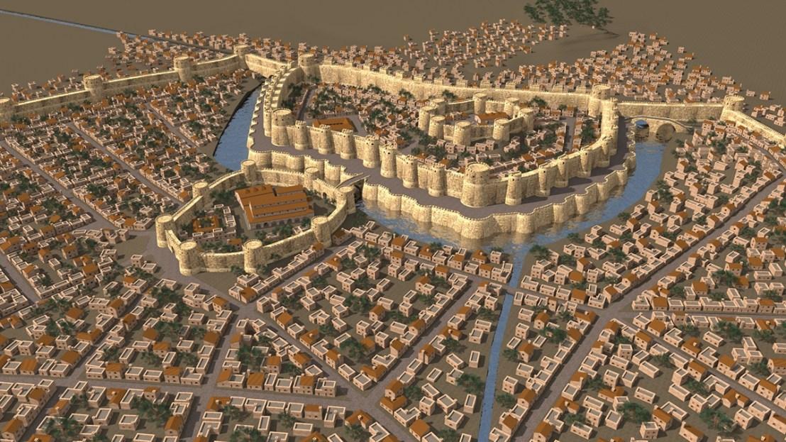 Dvin city 3D reconstruction3