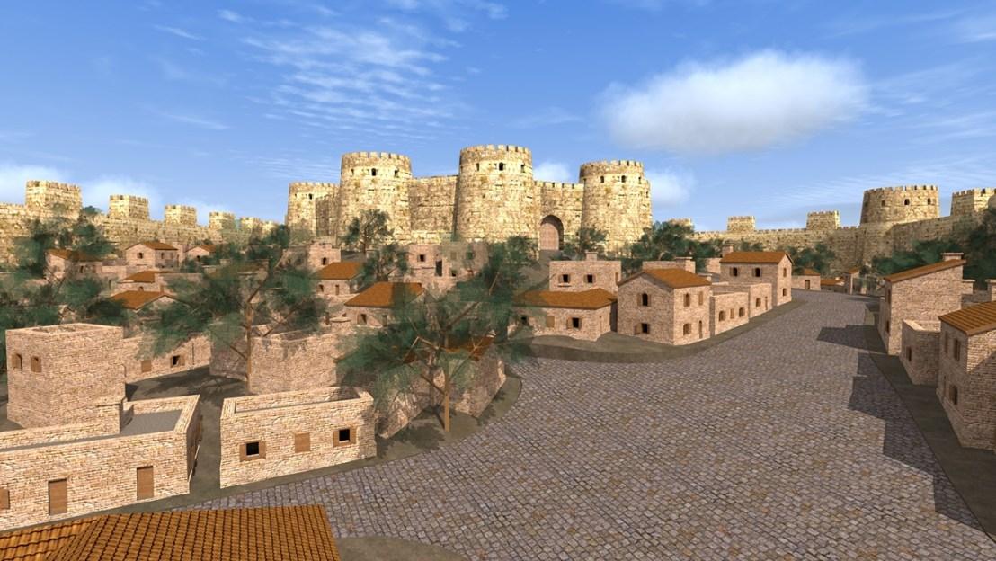 Dvin city 3D reconstruction7
