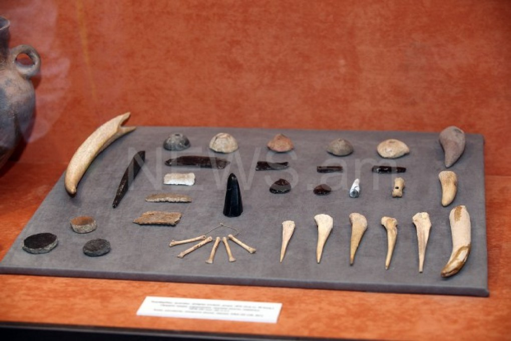 Ancient finds in Metsamor