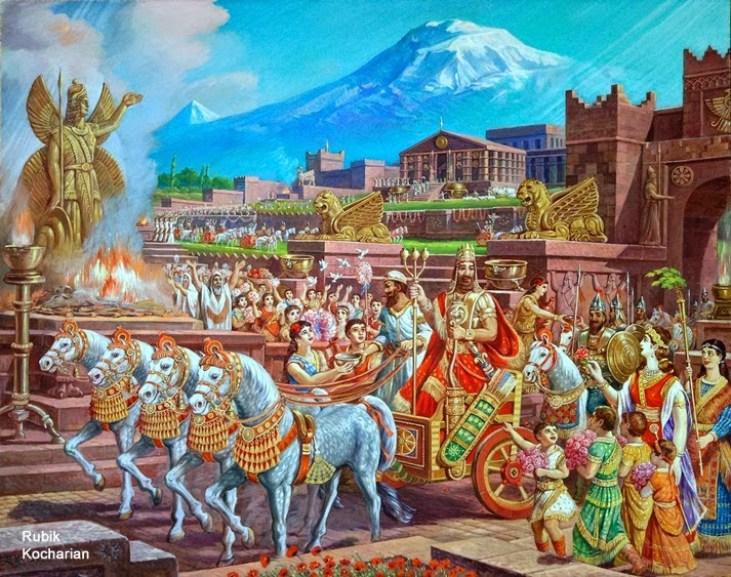 King Aram, by Rubik Kocharian