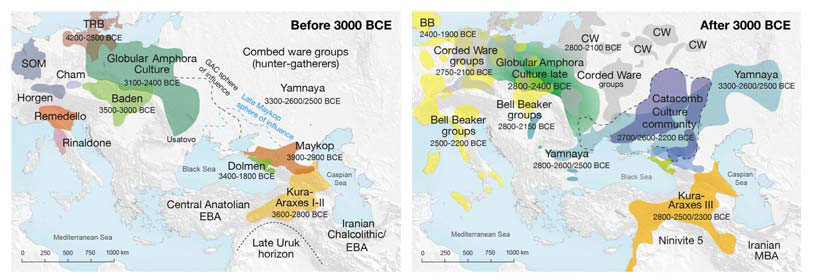 Map of sites and archaeological cultures mentioned in this study.