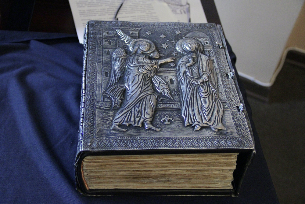 Oldest Armenian printed Bible (from Amsterdam 1666)