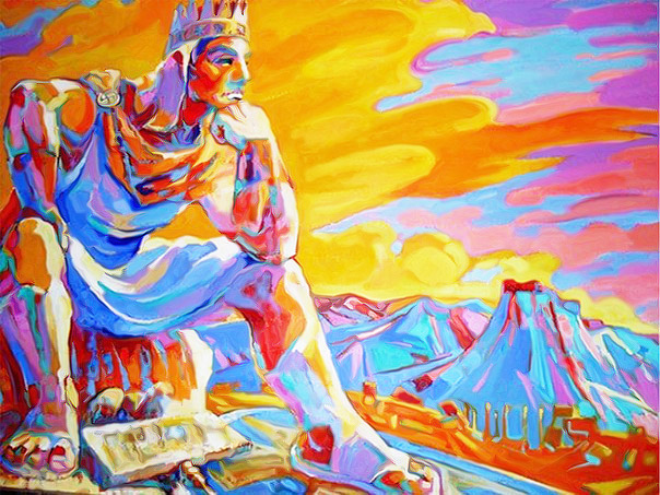 Painting with Tigranes the Great