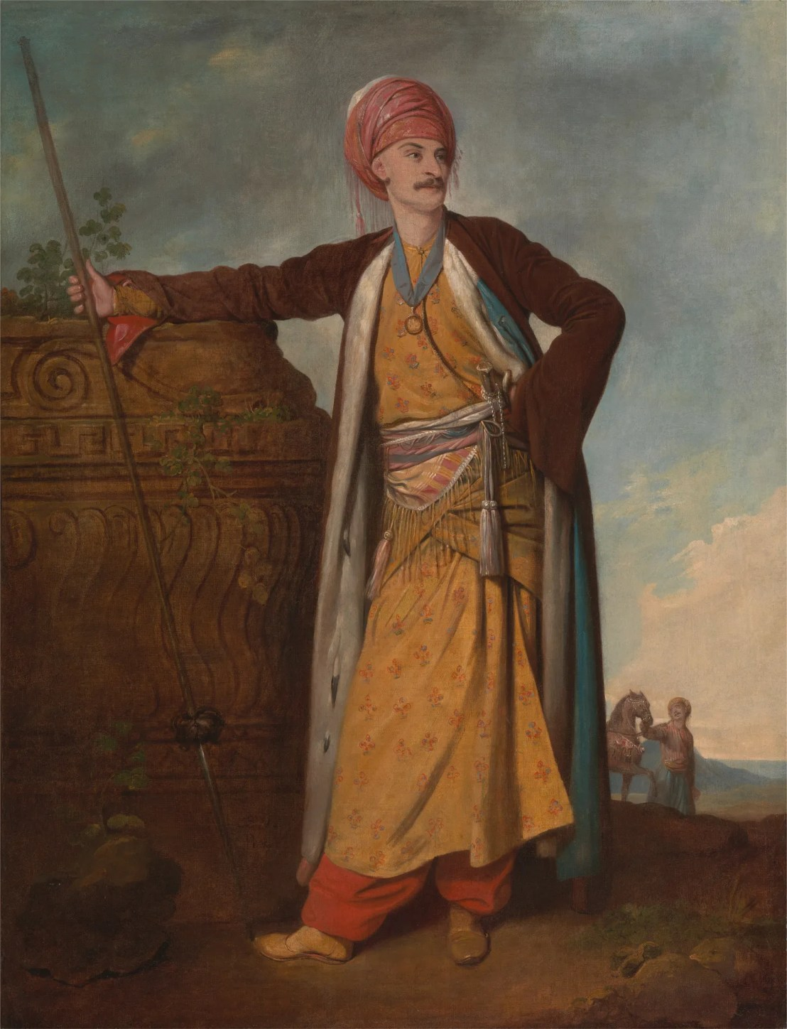 Portrait of an Armenian Richard Cosway 1771