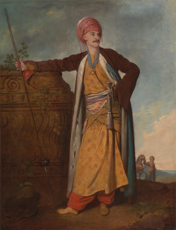 Portrait of an Armenian Richard Cosway 1771