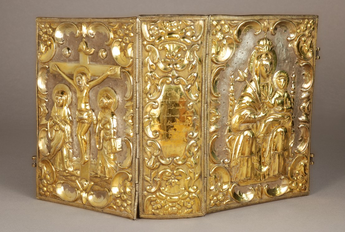 Gospel Book binding, 1825, Armenia