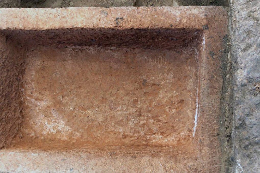 Sarcophagus of the 4th century Armenian Arsacid royalty