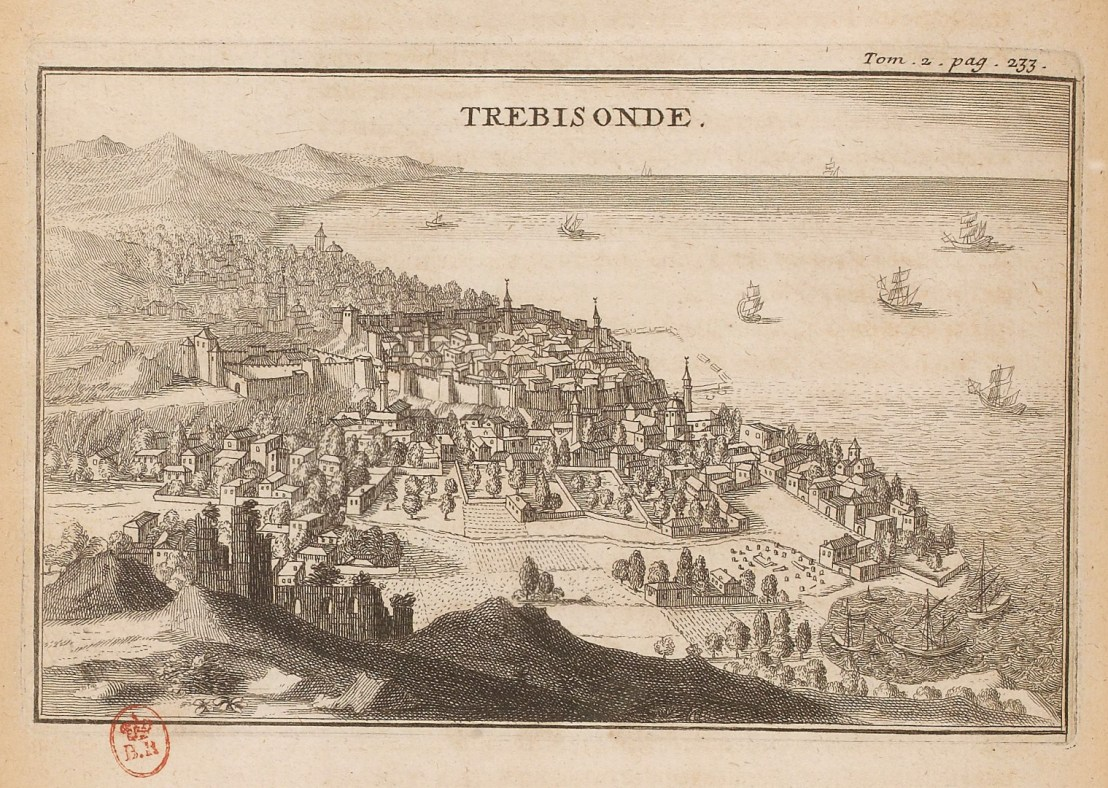 Illustration of Trebizond  by  Joseph Pitton de Tournefort (1656-1708)