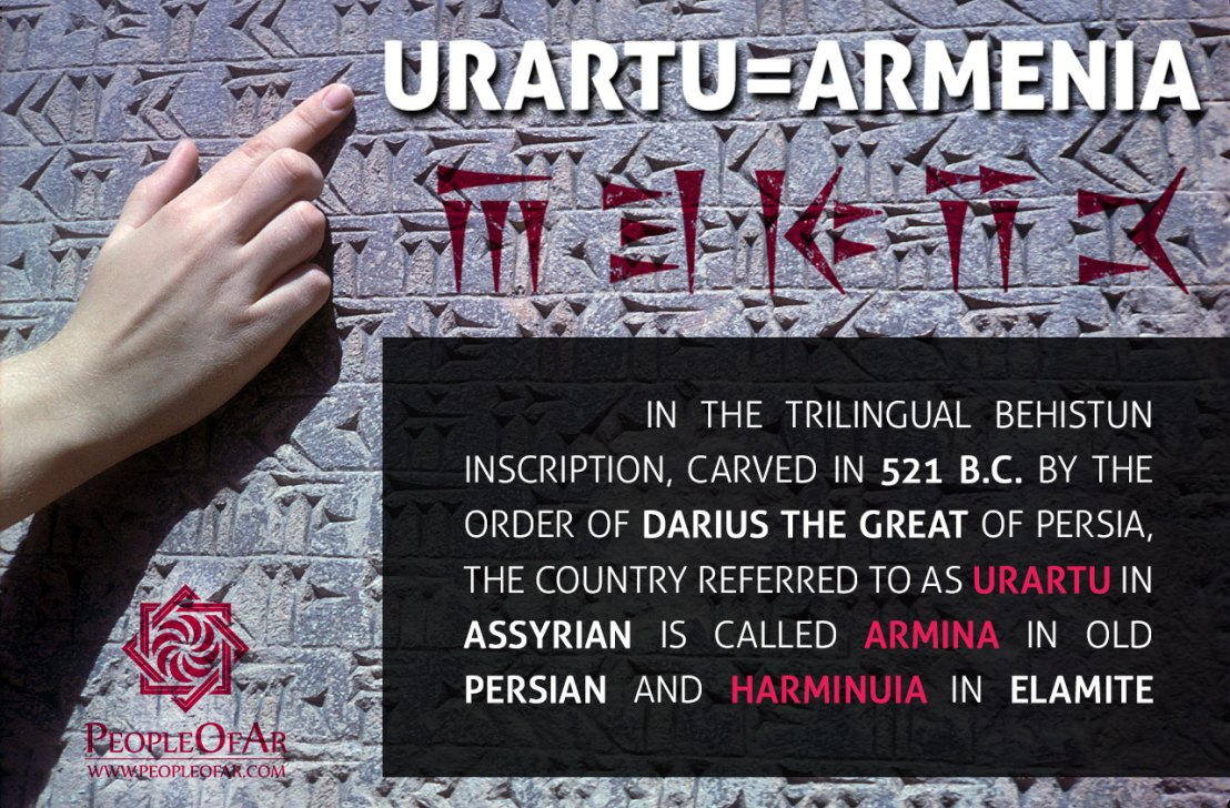 Urartu=Armenia