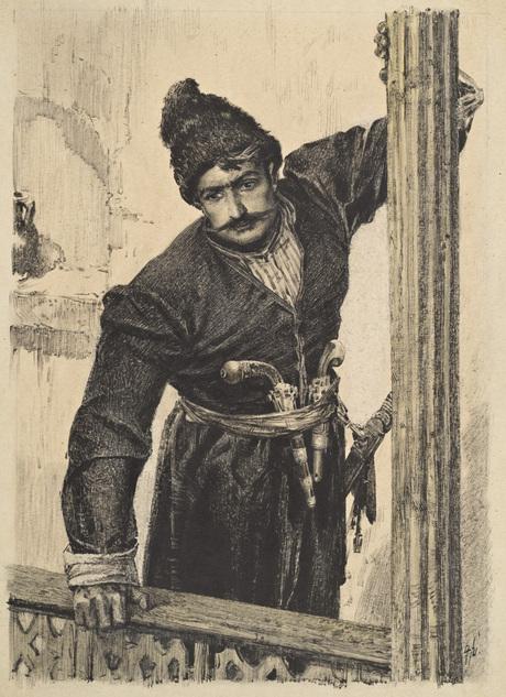 Aghasi articles (Wounds of Armenia novel illustrations) Grigor Khanjian Sepuh (1926 - 2000)