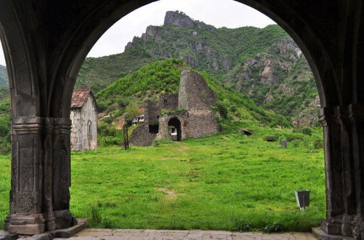 Akhtala fortress 10th. c. Alaverdi-Armenia