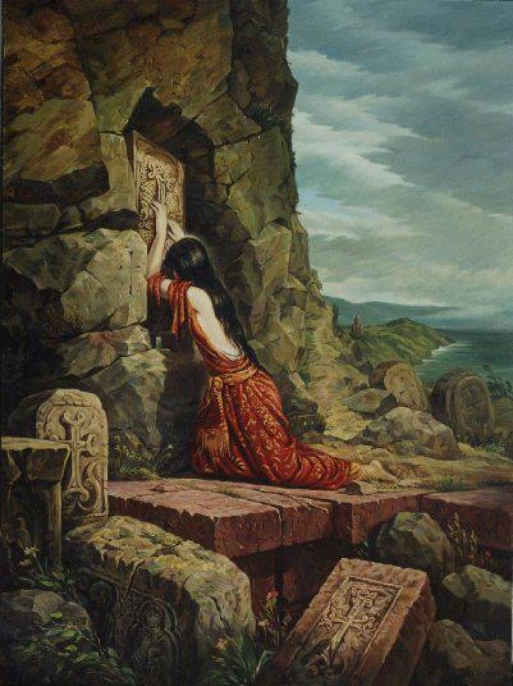 Akhtamar (Based on Armenian Legend),  2002 by Rubik Kocharian