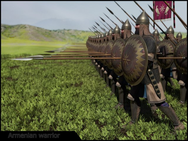 Armenian Artaxiad foot soldiers
