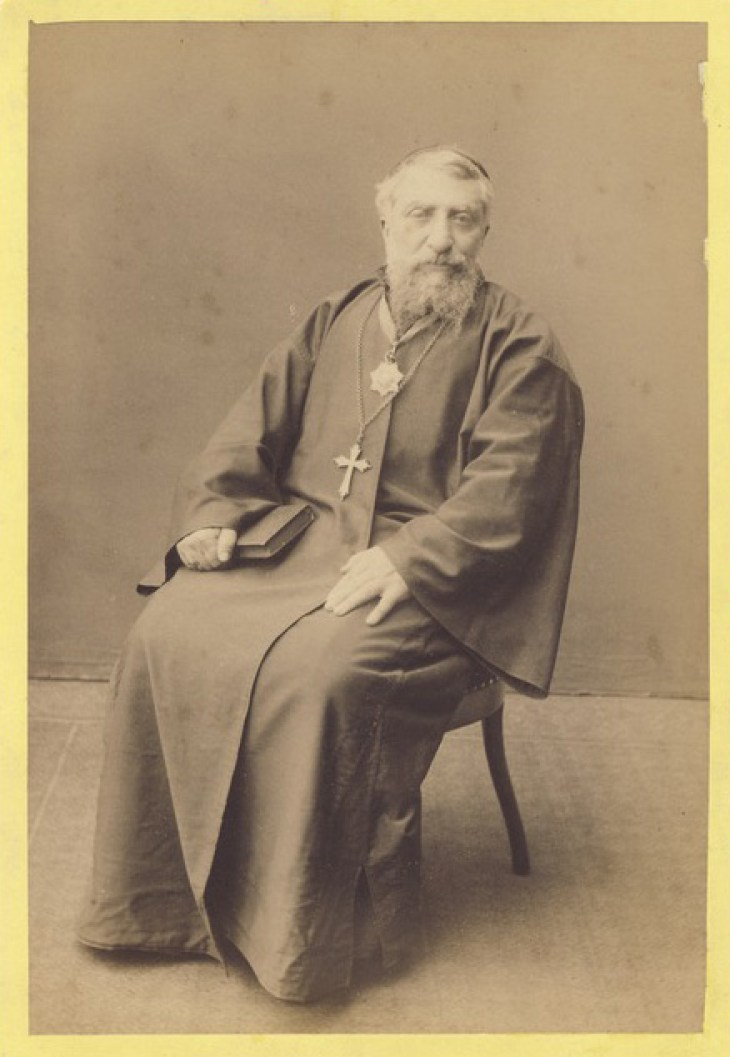 Armenian Bishop Paul Marmarian 1889, bishop of Trebizond