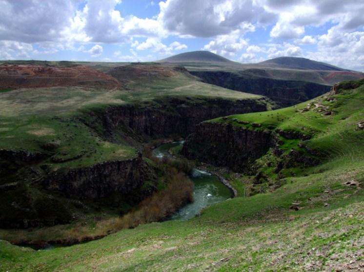 Armenian Border in Ani