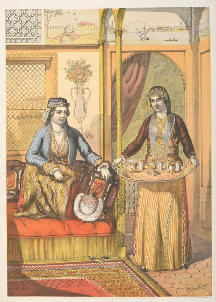 Armenian Ladies (At Home) by Van-Lennep, Henry John, 1815-1889