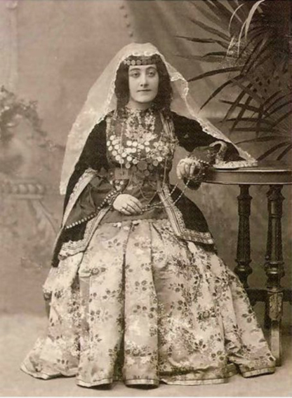 Armenian lady from Nukhi