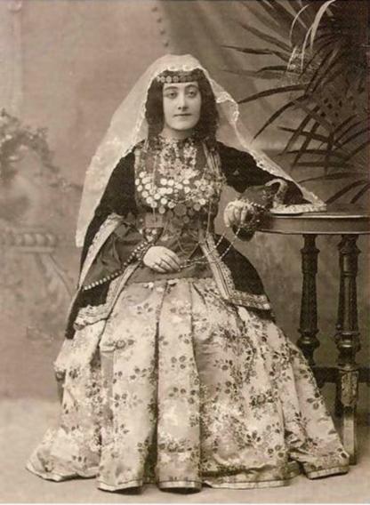 Armenian lady from Nukhi