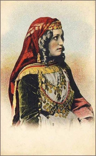 Armenian lady from Shamakhi