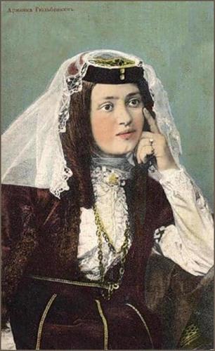 Armenian lady Zaruhi Gyulbekyan, picture by Dimitri Yermakov