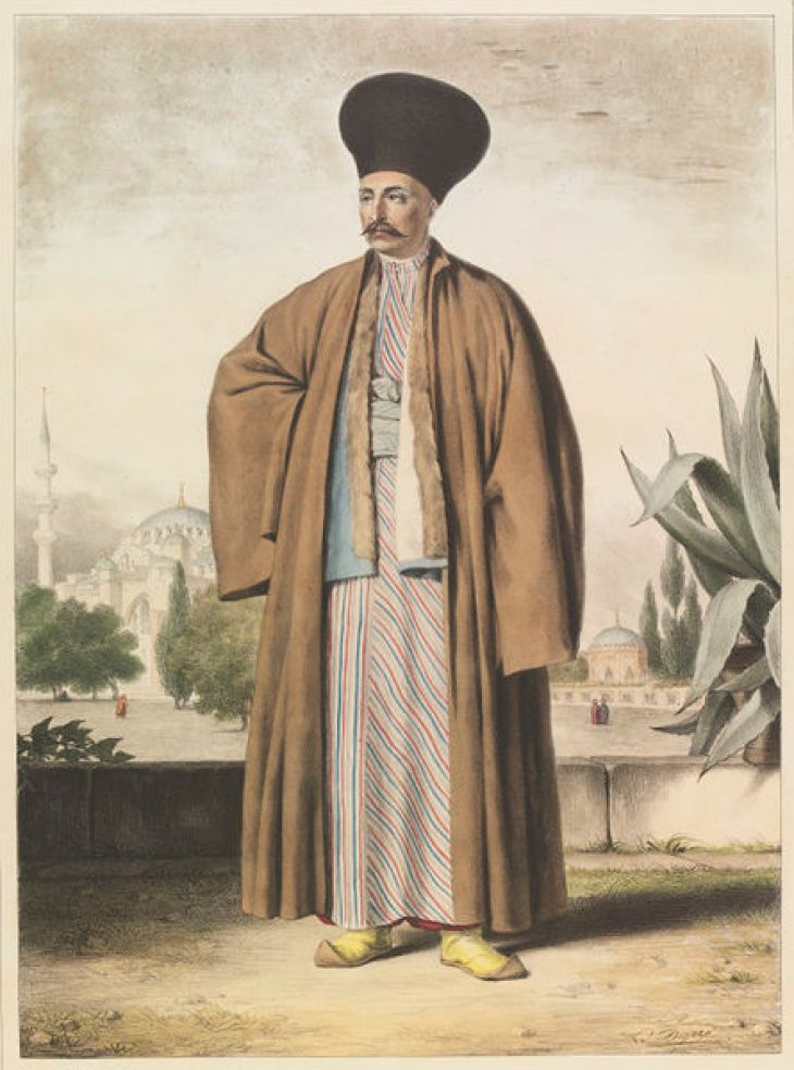 Armenian man by Louis Dupré 1825