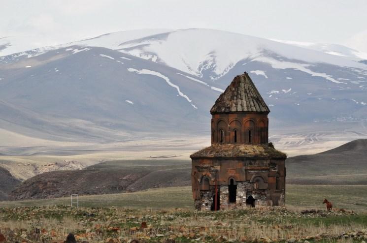 Armenian medieval church of Ani