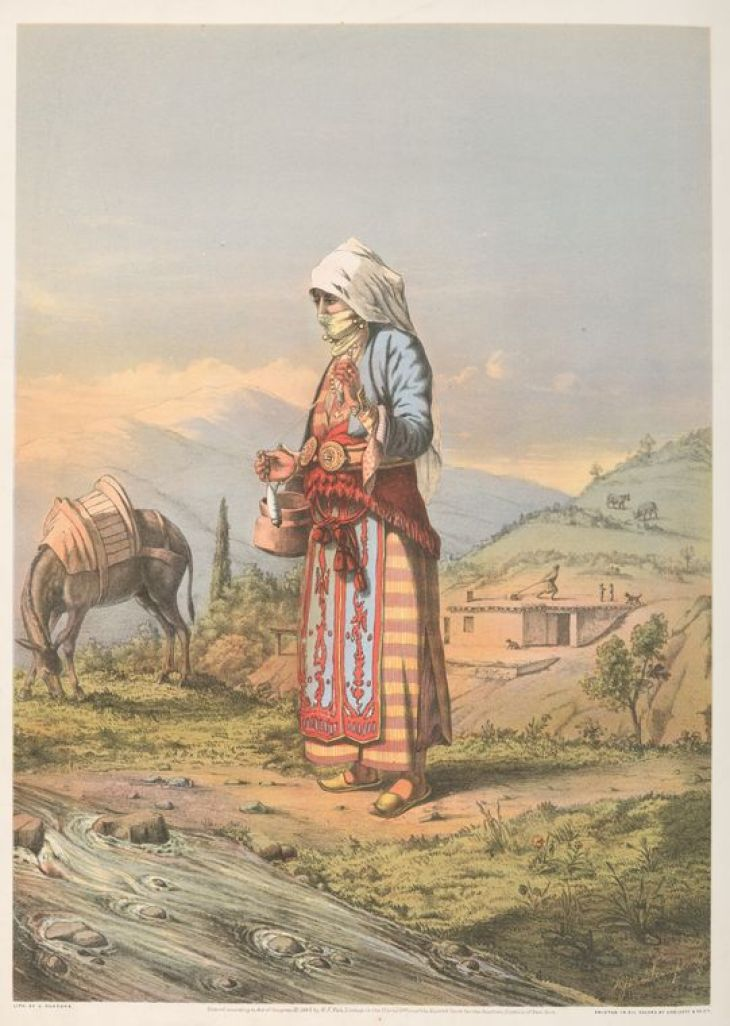 Armenian Peasant Woman by Van-Lennep, Henry J. (Henry John), 1815-1889