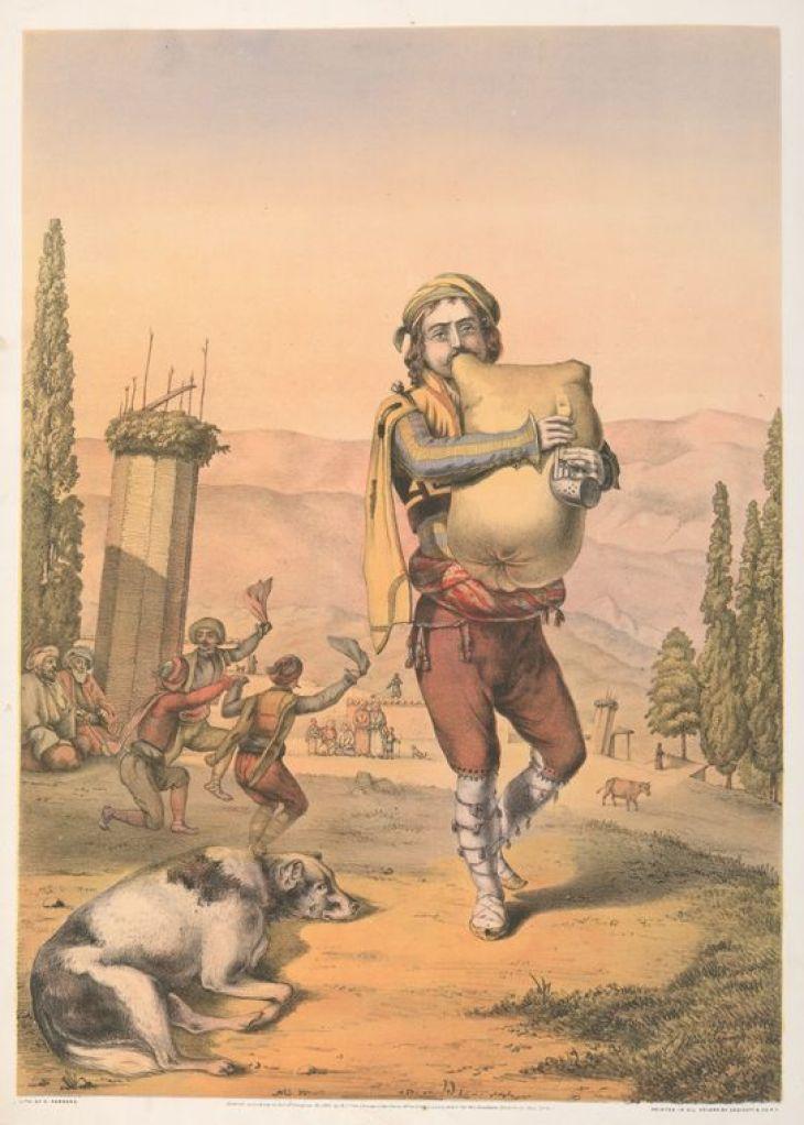 Armenian Piper by Van-Lennep, Henry John, 1815-1889