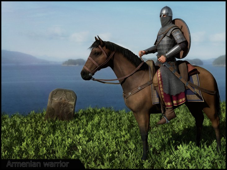 Armenian Warriors 1080-1375 AD.
