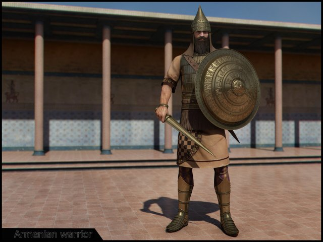 Armenian Warrior of Ararat period (Van Kingdom)