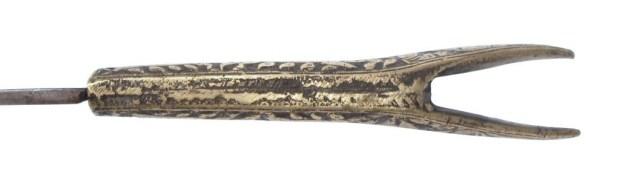 Armenian Yataghan sword hilt, mid 19th c.