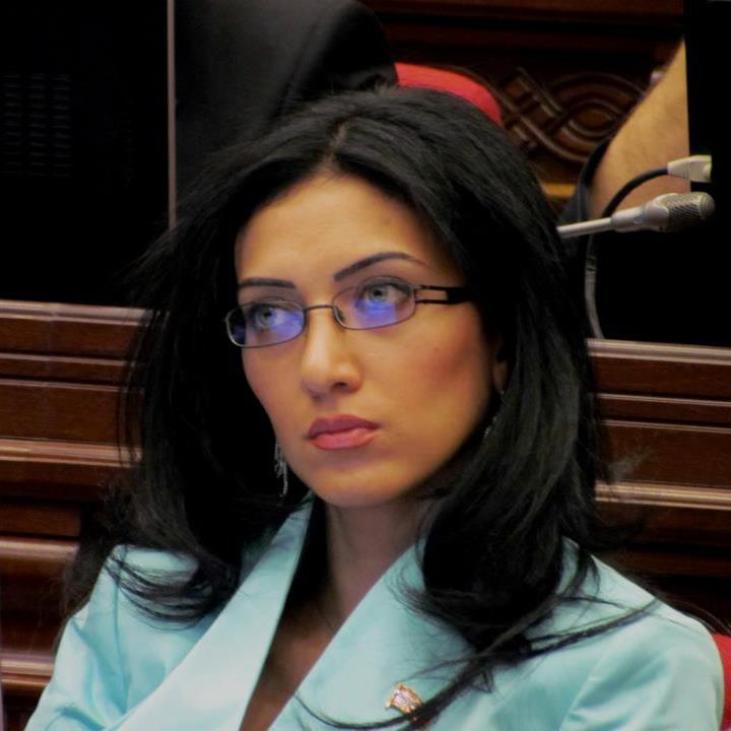 Arpine Hovhannisyan, Armenian MP