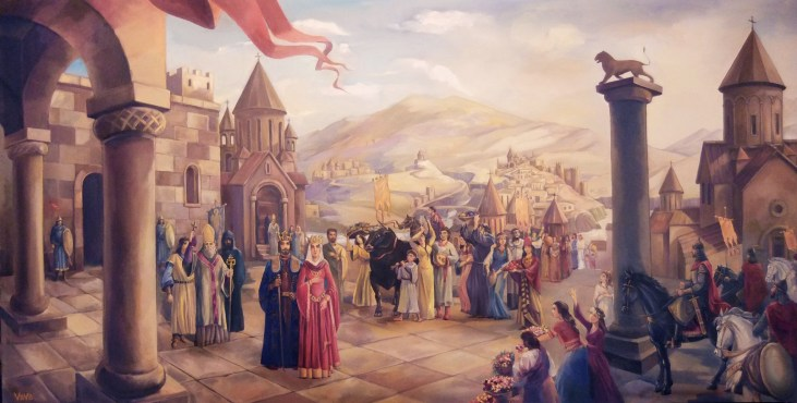 Ashot the Great King of Armenia by Gagik Vava Babayan