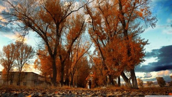 Autumn in Gyumri, Armenia