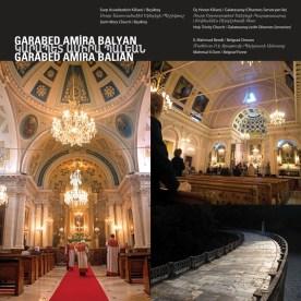 """""""Saint Mary Church"""" - """"Holy Trinity Church"""" - """"Mahmud II Dam""""  by Garabed Amira Balyan"""