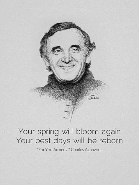 Charles Aznavour for you Armenia