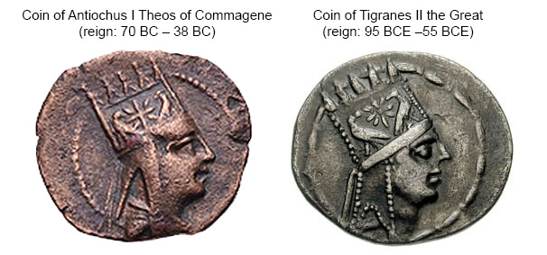 coins-of-Antiochus-I-and-Tigranes-II