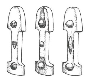 Types of Rivets on the handles