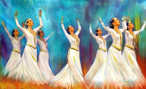 Armenian dance