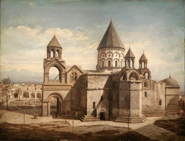 4th century Armenian Cathedral of Etchmiadzin