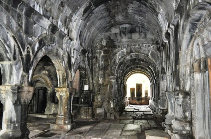 Haghpat monastery interior (10th century) Alaverdi Armenia