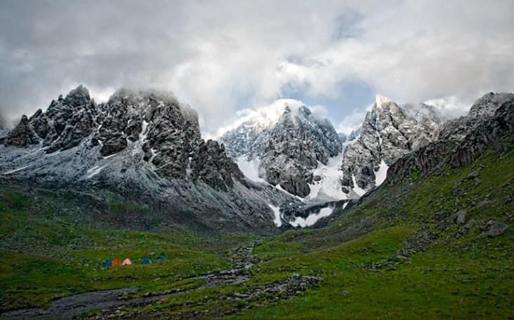 Kackar mountain range