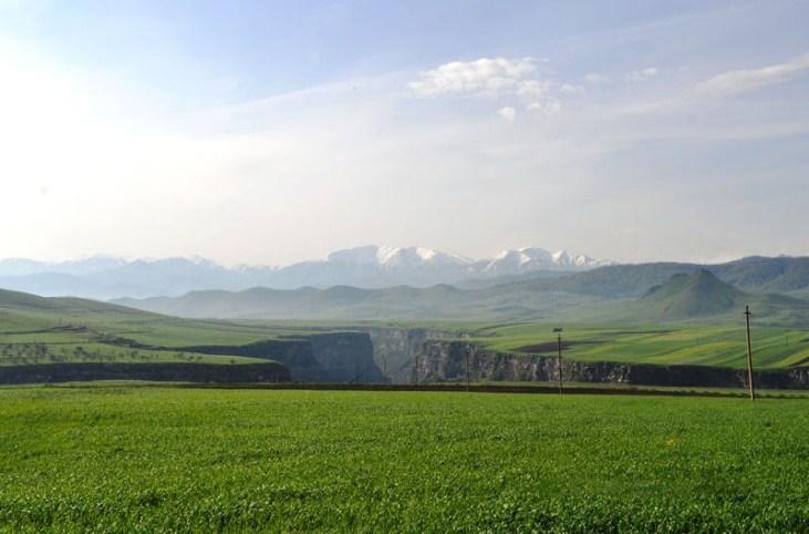 Koghes gorge scenery Alaverdi Armenia
