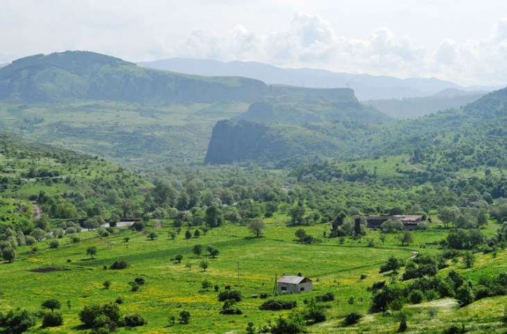 Kurtan valley, Alaverdi, Armenia
