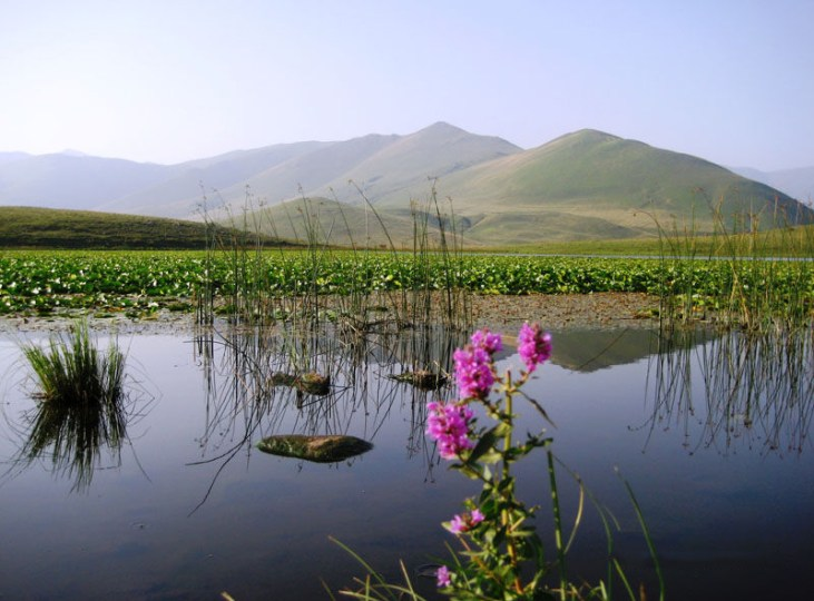 Kuybishev lake Stepanavan, Armenia
