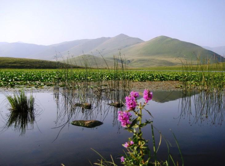 Kuybishev lake Stepanavan, Armenia