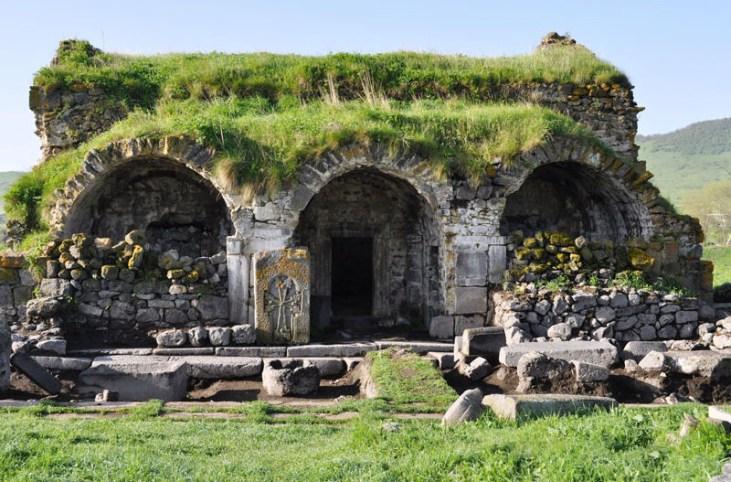 Lori Berd fortress of Stepanavan Armenia, 10 th c.