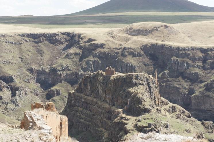 Armenian castle of Ani